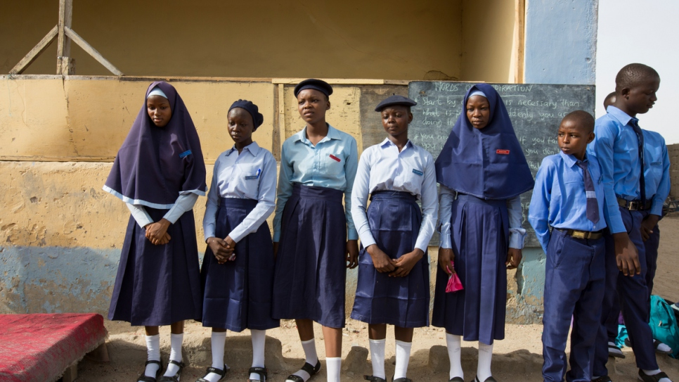 It has been a long journey for Fannah Mohammed Ali, 16, now head girl at Treasures Richfield College secondary school in Maiduguri, Borno.