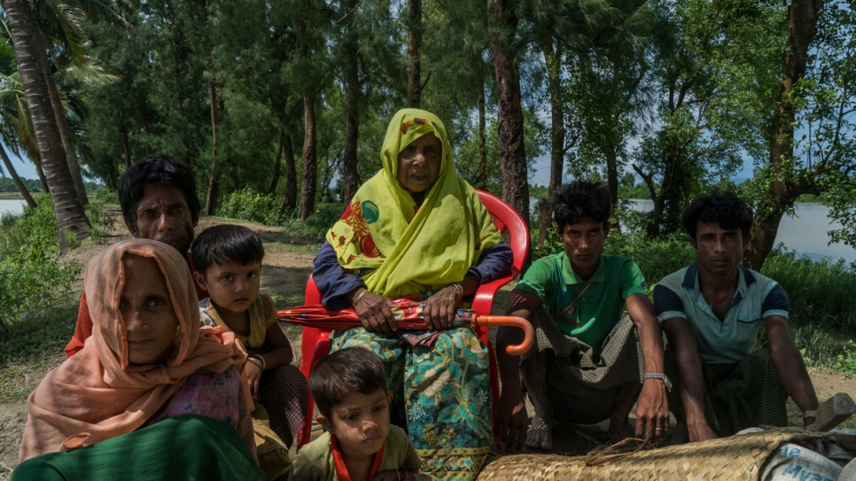 """I will never go back. They are burning the houses.""