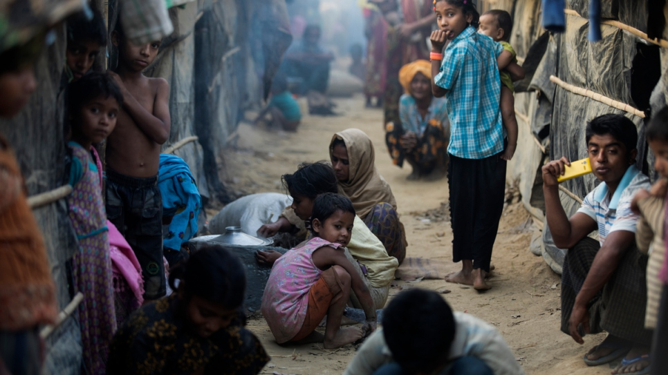 Many Rohingya refugees who fled the October 2016 violence in Myanmar live in overcrowded makeshift sites in Cox's Bazar, Bangladesh.