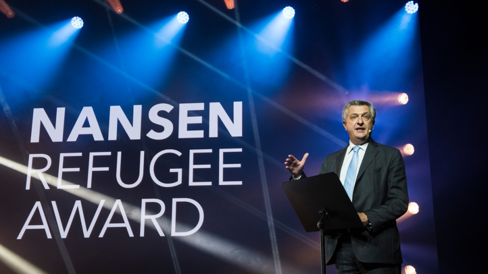 United Nations High Commissioner for Refugees, Filippo Grandi tells the 2017 Nansen Refugee Award ceremony how key education is to refugees.