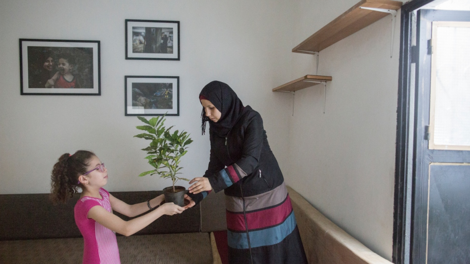 Haela says the renovation has had a positive impact on the lives of her children.