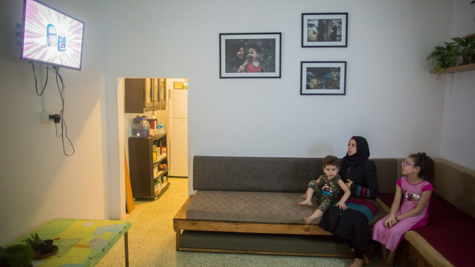 """I am very happy because I have a healthy house now,"" says Haela."