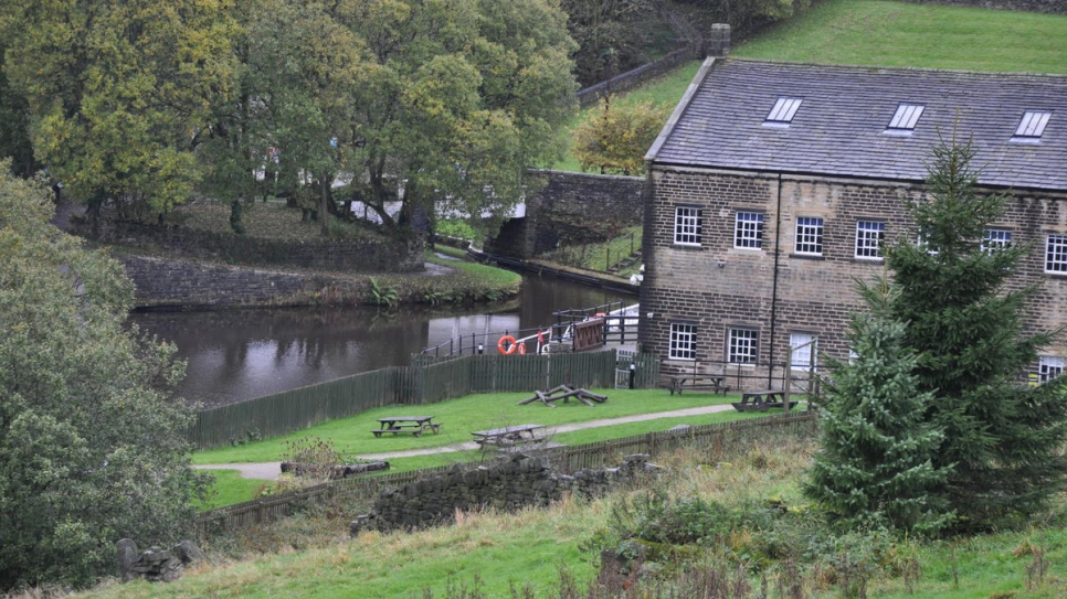 Standedge Canal Tunnel visitor centre in Yorkshire, where Ryad Alsous will run the Buzz Project in ​the ​summer.​