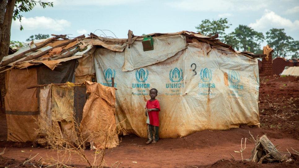 Many Congolese asylum-seekers in Nyarugusu refugee camp, Tanzania, are housed in temporary shelters months after they arrived.