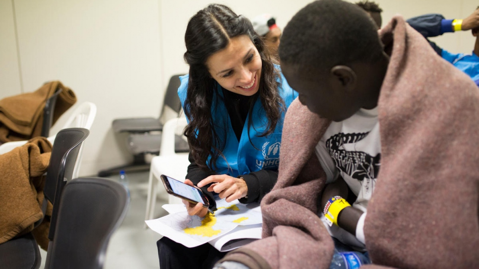 Since November, UNHCR has evacuated more than 1,000 highly vulnerable refugees from Libya.