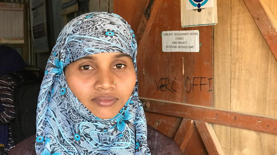 Working to help young Rohingya refugees girls get some schooling in displacement