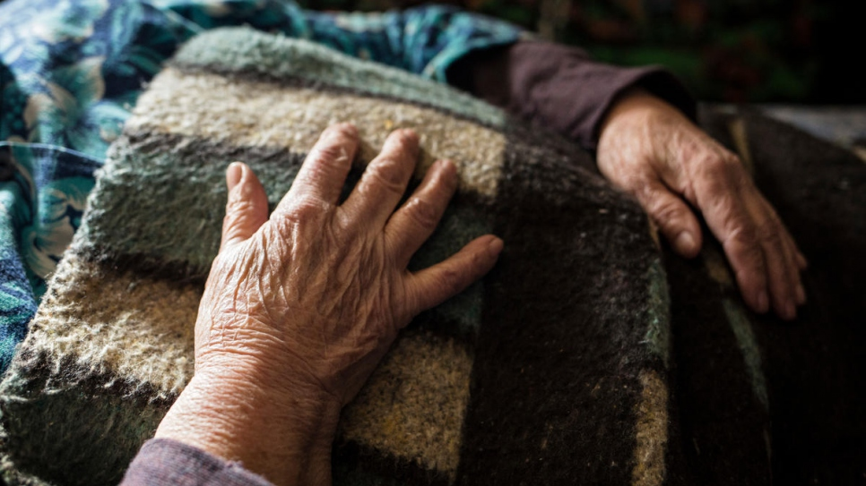 Svetlana struggles to register for her pension due to poor health.