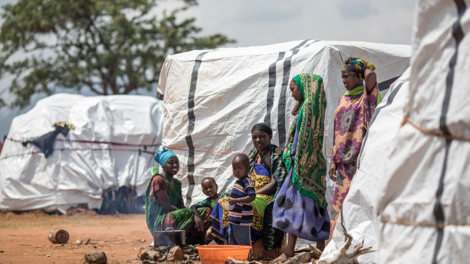"""We left all our things and ran away with just the clothes we are wearing now.""