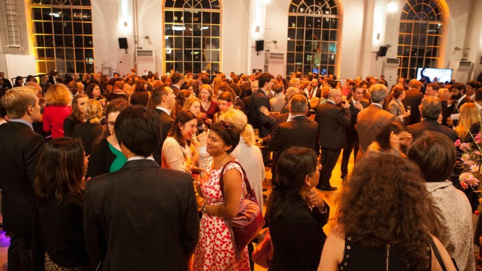 The reception before the 2015 Nansen Refugee Award Ceremony