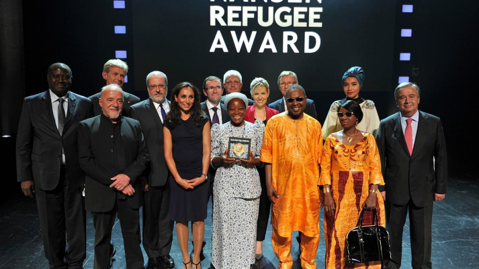 UNHCR's Nansen Refugee Award ceremony which took place in Geneva Switzerland on September 30, 2013.