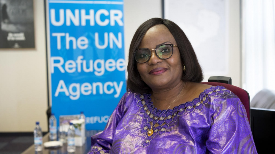 """Refugees bring many opportunities including their skills and strengths that can be shared with host communities,"" explains UNHCR representative to Zambia, Pierrine Aylara."