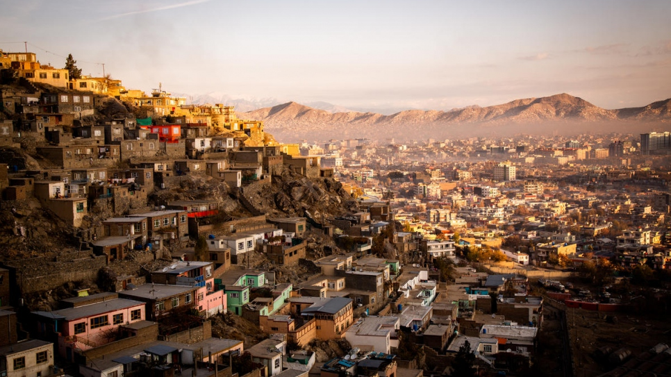 View of Kabul, Afghanistan on November 19, 2018 - UNHCR/Jim Huylebroek
