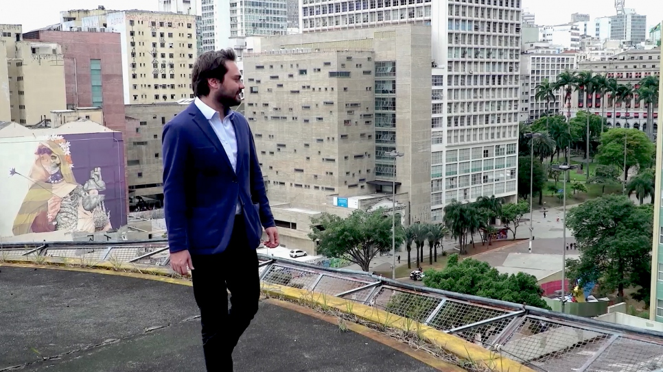 Filipe Sabará, São Paulo's Secretary of Social Development and Assistance, says Venezuelans and the Brazilian companies employing them have both benefited from the city's job programme.