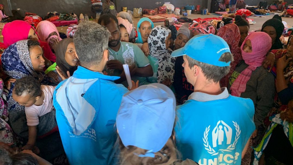 Detained refugees in Libya moved to safety in second UNHCR relocation