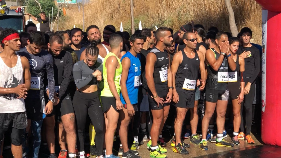 Syrian runner overcomes obstacles to triumph in Lebanon