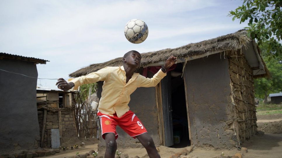 Top Italian football coaches train refugee and local youth in Uganda