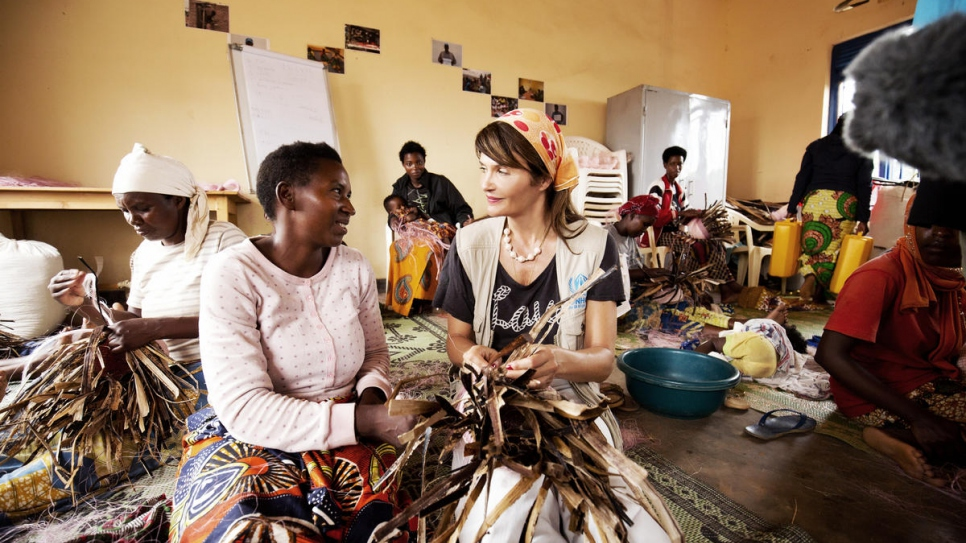 Helena Christensen appointed Goodwill Ambassador for UNHCR, the UN Refugee Agency