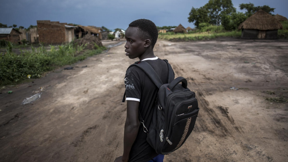 """It would be horrible if I couldn't go to secondary school,"" says Gift, a South Sudanese refugee living in the Democratic Republic of the Congo, who cannot imagine life without education."