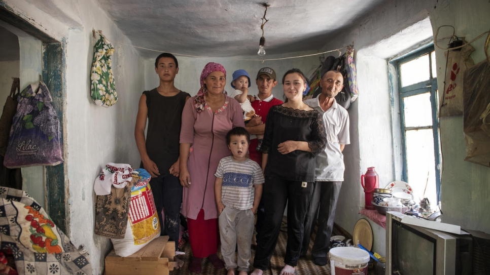 Three generations of Shirmonkhon Saydalieva's family were once stateless.