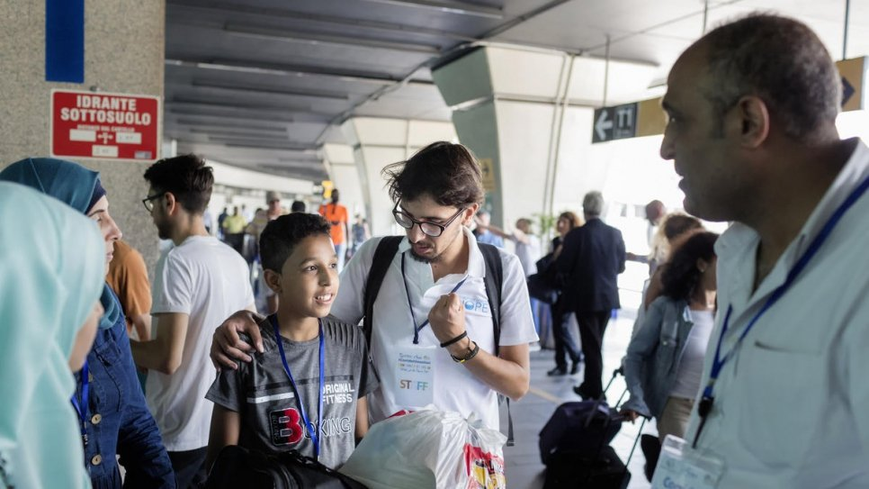 Life-saving programme offers safe path to Italy for refugees