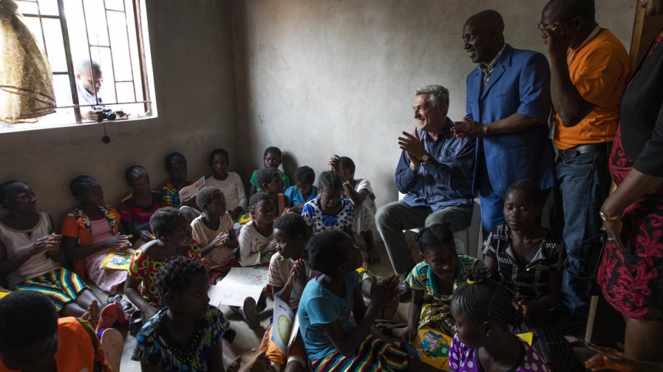 UNHCR chief applauds Zambia's openness to refugees