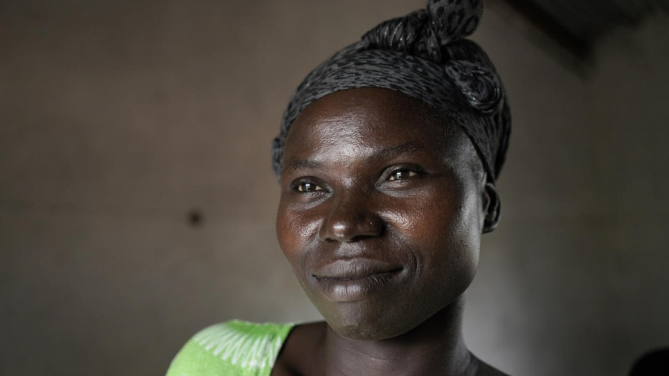 Asha Rose Sillah is a South Sudanese refugee living in Uganda and a leader of the women's group.