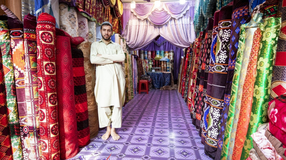 Sifat worked as a tailoring apprentice for six years, before opening his own shop.