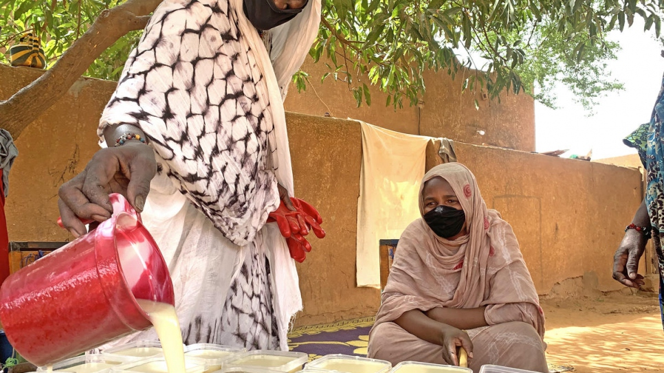 Self-help project in Niger churns out hygiene products in fight against coronavirus