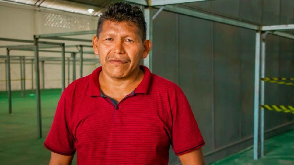 Venezuelan-born Orlando Martínez fled to Brazil with his family of indigenous Warao people. During the coronavirus pandemic, they have struggled to stay safe.