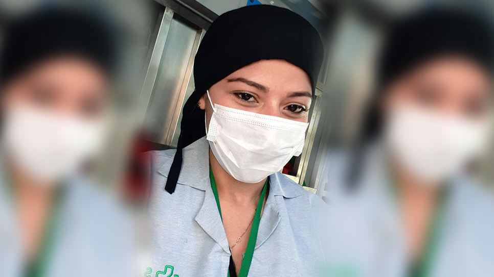 Venezuelan doctor Carmen Parra is part of an ambulance crew in Peru that visits suspected COVID-19 patients in their homes and transports those who are critically ill to hospital.