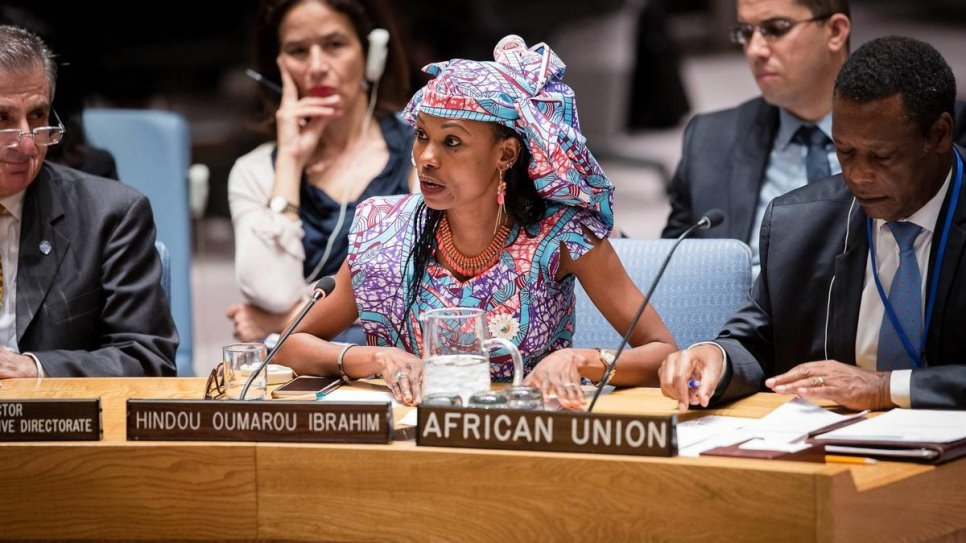 Hindou Oumarou Ibrahim is an environmental activist, member of Chad's pastoralist Mbororo community, a UN Sustainable Development Goal Advocate and President of the Association for Indigenous Women and Peoples of Chad (AFPAT).
