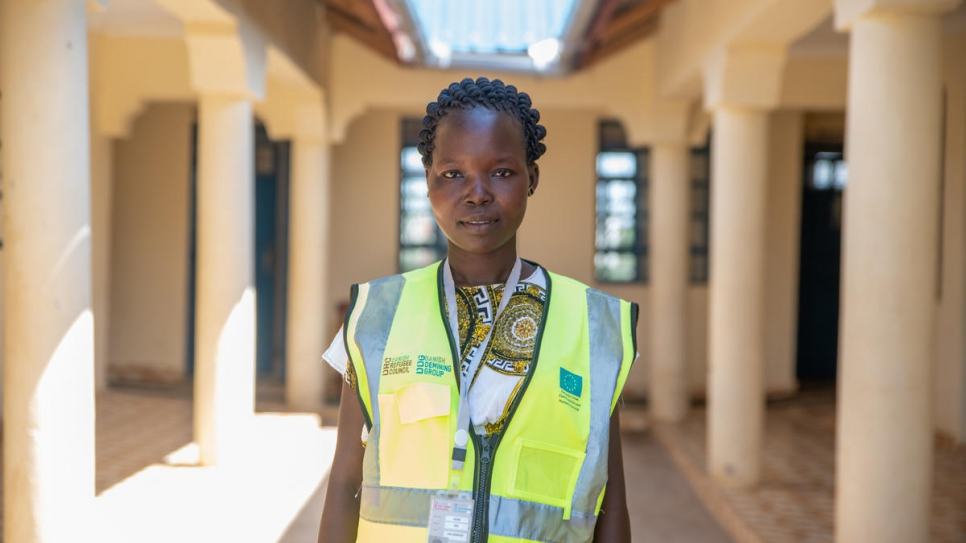 Mary Husuro decided to become a community worker following her own experience of violence.