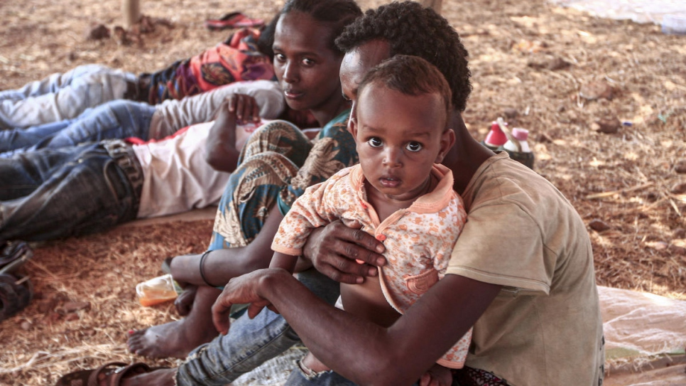 As refugee numbers surge, Ethiopians seek word of loved ones