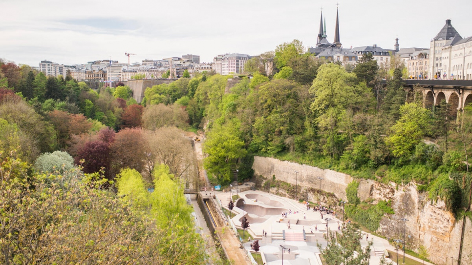 Luxembourg City, where Yonas has taken up residence since his arrival in 2012. He recently became a Luxembourg citizen.