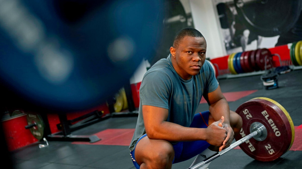 Cyrille won British, English and British Universities & Colleges weightlifting titles as a student, before being selected for the Refugee Olympic Team in Tokyo.