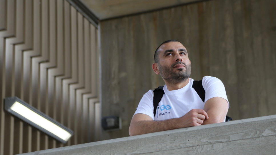 Syrian refugee takes the hard road with his UK tech start-up