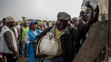 Liberia. Voluntary repatriation of Ivorian refugees