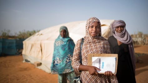 Mauritania.Tinalbarka's dream to become a lawyer