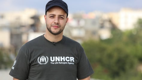 Maher Zain visits Syrian refugees in Lebanon