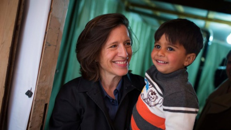 Lebanon:Melissa Fleming visits Bekaa Valley