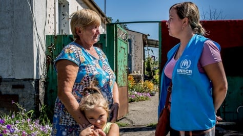 Ukraine. Struggling to rebuild lives shattered by war