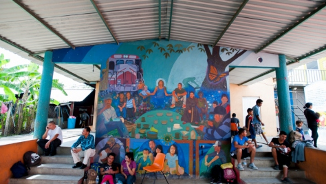 Mexico. Families find safety in UNHCR funded shelters