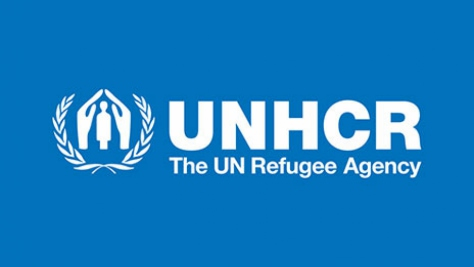 UNHCR logo sized for spotlight component