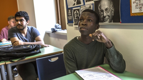Italy. Scholarship gives South Sudanese refugee chance to spread his wings