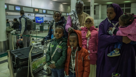 Ethiopia. Somali girl given medical lifeline in Italy