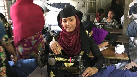 Rohingya refugee women stitch new lives in Bangladesh