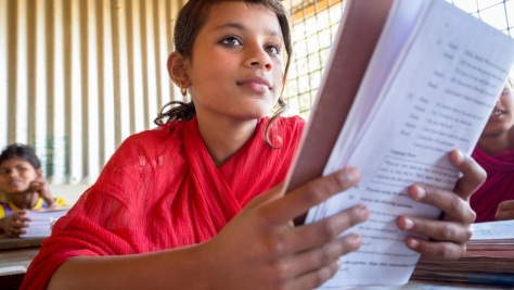 Bangladesh. Rebuilding girls' lives through education