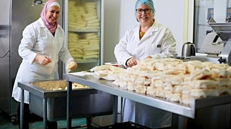United Kingdom. Syrian refugee becomes cheesemaker in the UK