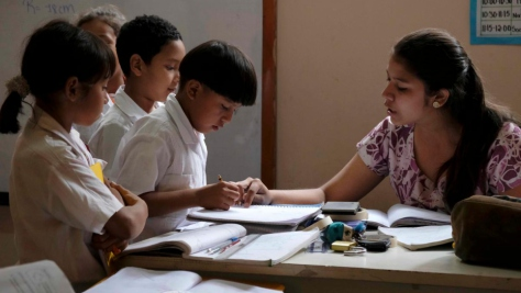 Honduras. Education centres a haven of peace in gang-controlled zones