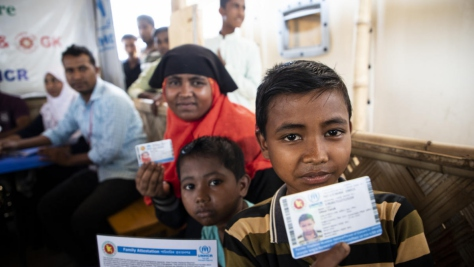 Bangladesh. Registration exercise empowers Rohingya refugees